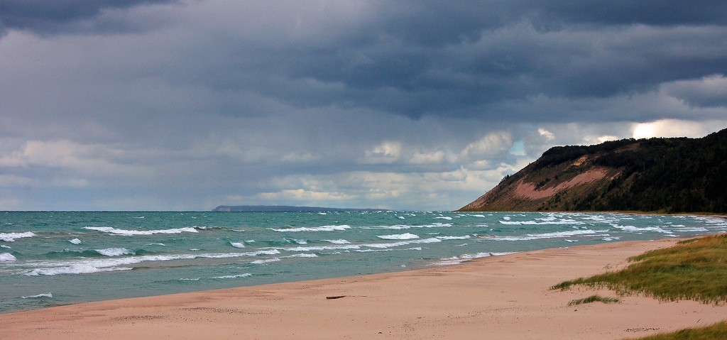 Lake Michigan Beach at Esch Road by Craig
