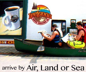 Leelanau Coffee Roasting - Arrive by Air, Land or Sea